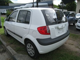 2007 Hyundai Getz TB Upgrade SX White 5 Speed Manual Hatchback