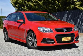 2014 Holden Commodore VF MY14 SV6 Sportwagon Red 6 Speed Sports Automatic Wagon.