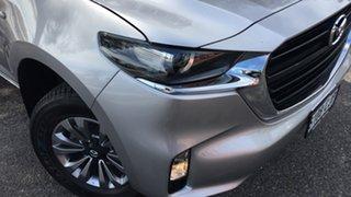 2020 Mazda BT-50 TFS40J XT Ingot Silver 6 Speed Sports Automatic Cab Chassis.