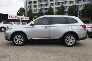 2020 Mitsubishi Outlander ZL MY20 ES 2WD Silver 6 Speed Constant Variable Wagon