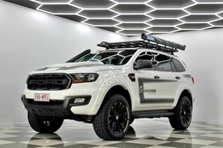 2016 Ford Everest UA MY17 Ambiente White 6 Speed Automatic SUV