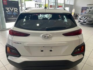 2019 Hyundai Kona OS.3 MY20 Go 2WD Chalk White 6 Speed Sports Automatic Wagon