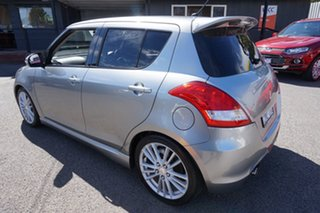 2013 Suzuki Swift FZ Sport Premium Silver 6 Speed Manual Hatchback.