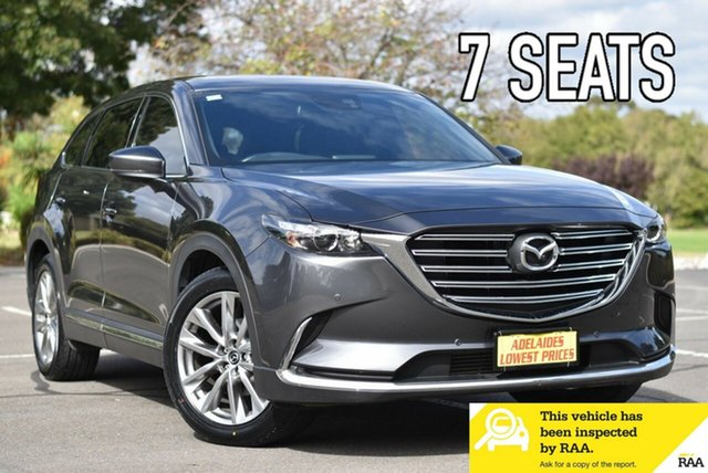 Used Mazda CX-9 TC GT SKYACTIV-Drive i-ACTIV AWD Enfield, 2016 Mazda CX-9 TC GT SKYACTIV-Drive i-ACTIV AWD Grey 6 Speed Sports Automatic Wagon