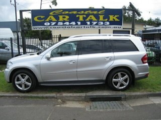 2010 Mercedes-Benz GL350 164 Silver 7 Speed Automatic Wagon.