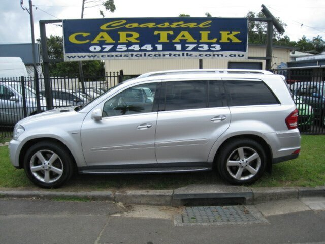 Used Mercedes-Benz GL350 CDI 164 MY10 Luxury Nambour, 2010 Mercedes-Benz GL350 CDI 164 MY10 Luxury Silver 7 Speed Automatic G-Tronic Wagon