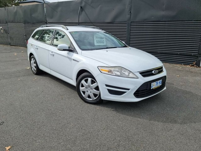 Used Ford Mondeo MC LX PwrShift TDCi Launceston, 2011 Ford Mondeo MC LX PwrShift TDCi White 6 Speed Sports Automatic Dual Clutch Wagon