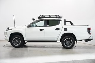 2019 Mitsubishi Triton MR MY19 GLS Double Cab White 6 Speed Manual Utility.