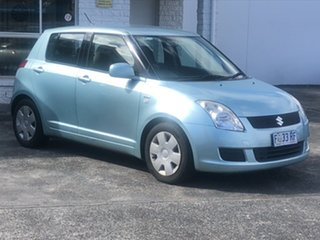 2008 Suzuki Swift RS415 Blue 4 Speed Automatic Hatchback