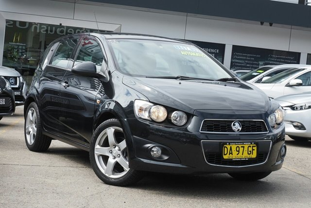 Used Holden Barina TM MY15 CDX Homebush, 2014 Holden Barina TM MY15 CDX Black 6 Speed Automatic Hatchback