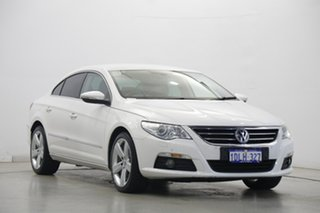 2010 Volkswagen Passat Type 3CC MY10 125TDI DSG CC White 6 Speed Sports Automatic Dual Clutch Coupe