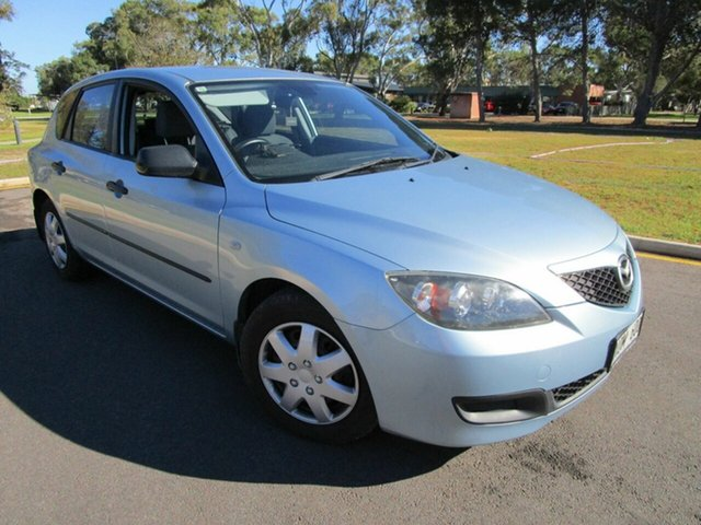 Used Mazda 3 BK MY06 Upgrade Maxx Glenelg, 2007 Mazda 3 BK MY06 Upgrade Maxx Blue 5 Speed Manual Hatchback