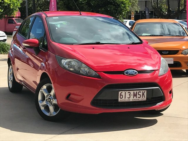 Used Ford Fiesta WS LX Toowoomba, 2009 Ford Fiesta WS LX Red 5 Speed Manual Hatchback