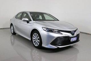2019 Toyota Camry AXVH71R Ascent (Hybrid) Silver Continuous Variable Sedan.