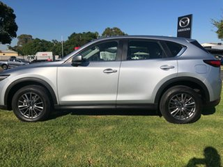 2018 Mazda CX-5 KF4WLA Touring SKYACTIV-Drive i-ACTIV AWD Sonic Silver 6 Speed Sports Automatic.