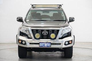 2014 Toyota Landcruiser Prado KDJ150R MY14 GXL Black 5 Speed Sports Automatic Wagon.