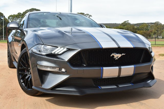 Used Ford Mustang FN 2018MY GT Fastback SelectShift St Marys, 2018 Ford Mustang FN 2018MY GT Fastback SelectShift Grey 10 Speed Sports Automatic Fastback