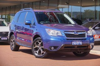 2015 Subaru Forester S4 MY15 2.5i-S CVT AWD Blue 6 Speed Constant Variable Wagon.