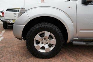 2014 Nissan Navara D40 RX Silverline SE (4x4) Silver 5 Speed Automatic Dual Cab Pick-up.