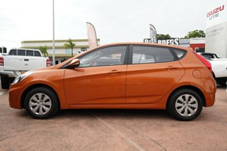 2016 Hyundai Accent RB3 MY16 Active Orange 6 Speed Manual Hatchback