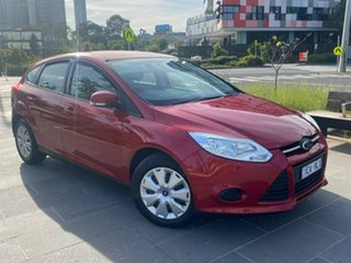 2014 Ford Focus LW MkII Ambiente Red 5 Speed Manual Hatchback.