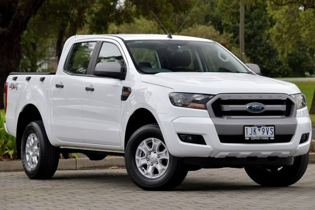 Used Ford Ranger PX MkII XLS Double Cab Dandenong, 2017 Ford Ranger PX MkII XLS Double Cab White 6 Speed Sports Automatic Utility