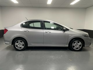 2012 Honda City GM MY12 VTi Silver 5 Speed Automatic Sedan