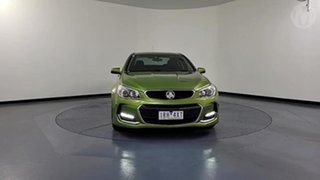 2016 Holden Commodore VF II SV6 Green 6 Speed Automatic Sedan