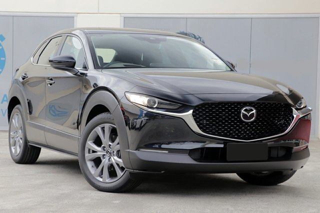 New Mazda CX-30 DM2WLA G25 SKYACTIV-Drive Touring Hindmarsh, 2021 Mazda CX-30 DM2WLA G25 SKYACTIV-Drive Touring Machine Grey 6 Speed Sports Automatic Wagon