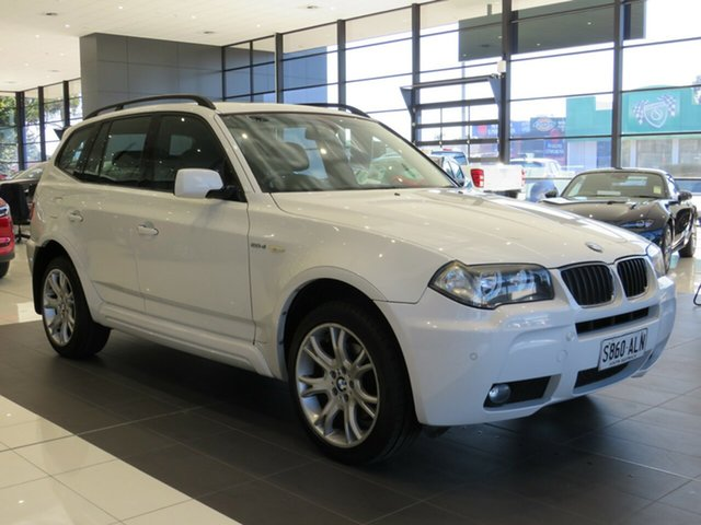Used BMW X3 E83 MY07 Steptronic Edwardstown, E83 MY07 WAG 5dr STPT 6sp 515kg 2.0DT