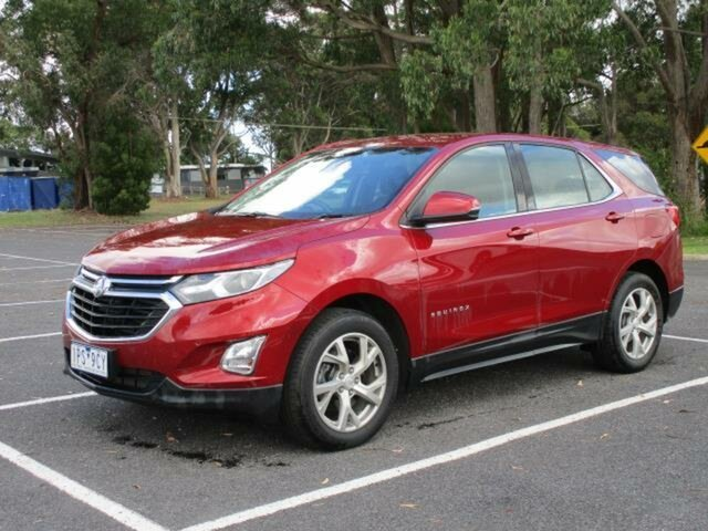 Used Holden Equinox LT Timboon, 2019 Holden Equinox EQ Turbo LT Glory Red Automatic Wagon