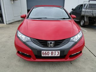 2012 Honda Civic 9th Gen VTi-L Red 5 Speed Sports Automatic Hatchback.