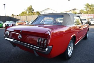 1965 Ford Mustang MY1965 Red 3 Speed Automatic Convertible.
