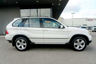 2006 BMW X5 E53 MY05 d Steptronic White 6 Speed Sports Automatic Wagon.
