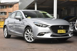 2018 Mazda 3 BN5438 SP25 SKYACTIV-Drive Silver 6 Speed Sports Automatic Hatchback.