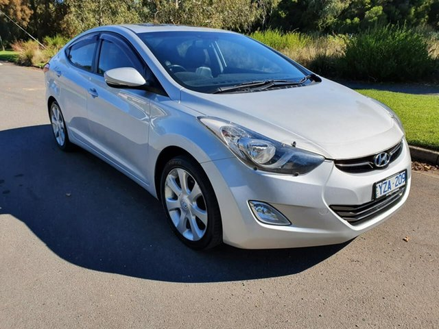 Used Hyundai Elantra MD Premium Geelong, 2012 Hyundai Elantra MD Premium Silver 6 Speed Sports Automatic Sedan