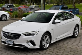 2018 Holden Commodore ZB MY18 RS-V Liftback AWD White 9 Speed Sports Automatic Liftback