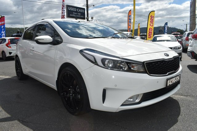 Used Kia Cerato YD MY18 S Gosford, 2018 Kia Cerato YD MY18 S White 6 Speed Sports Automatic Hatchback