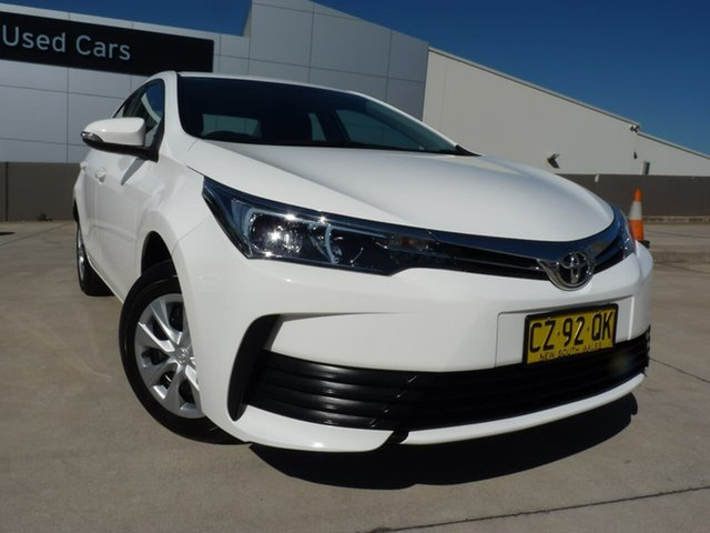 Pre-Owned Toyota Corolla ZRE172R Ascent S-CVT Blacktown, 2019 Toyota Corolla ZRE172R Ascent S-CVT White 7 Speed Constant Variable Sedan