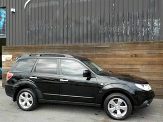 2009 Subaru Forester S3 MY10 XT AWD Black 5 Speed Manual Wagon.