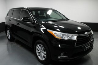 2014 Toyota Kluger GSU50R GX 2WD Black 6 Speed Sports Automatic Wagon
