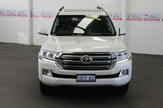 2020 Toyota Landcruiser VDJ200R VX Crystal Pearl 6 Speed Sports Automatic Wagon.