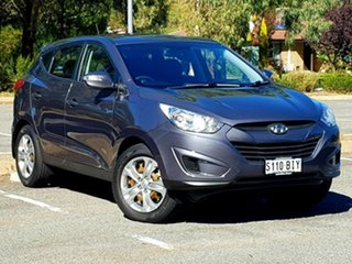 2013 Hyundai ix35 LM2 Active Grey 5 Speed Manual Wagon.
