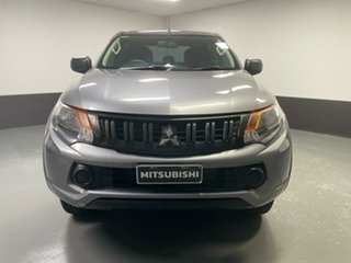 2018 Mitsubishi Triton MQ MY18 GLX+ Double Cab Titanium 5 Speed Sports Automatic Utility.