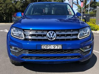 2017 Volkswagen Amarok 2H MY17 TDI550 4MOTION Perm Ultimate Blue 8 Speed Automatic Utility.