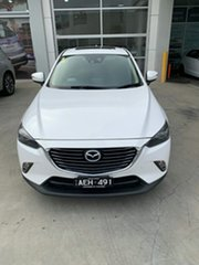 2015 Mazda CX-3 DK2W7A Akari SKYACTIV-Drive White 6 Speed Sports Automatic Wagon.
