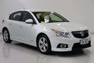 2013 Holden Cruze JH Series II MY13 CD White 6 Speed Sports Automatic Hatchback