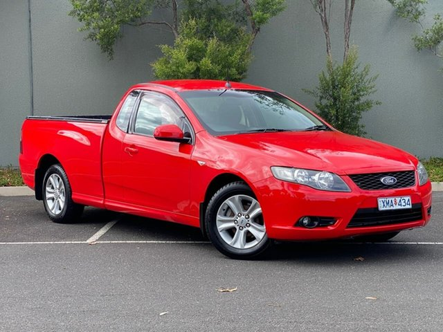 Used Ford Falcon FG R6 Ute Super Cab Templestowe, 2008 Ford Falcon FG R6 Ute Super Cab Red 4 Speed Sports Automatic Utility