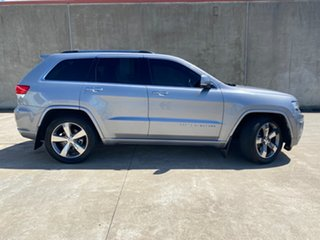 2015 Jeep Grand Cherokee WK MY15 Overland Silver 8 Speed Sports Automatic Wagon.
