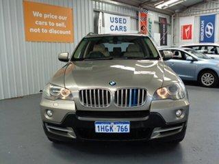 2007 BMW X5 E70 Steptronic Gold 6 Speed Sports Automatic Wagon.